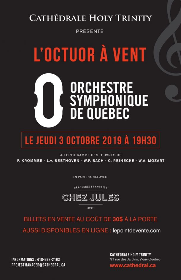 Calendrier Des Andrews.Musique The Cathedral Of The Holy Trinity Quebec Canada